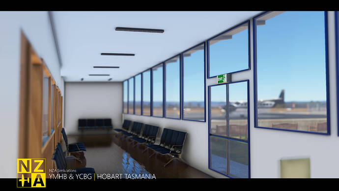 NZA Simulations - YMHB & YCBG - Par Avion Office 1