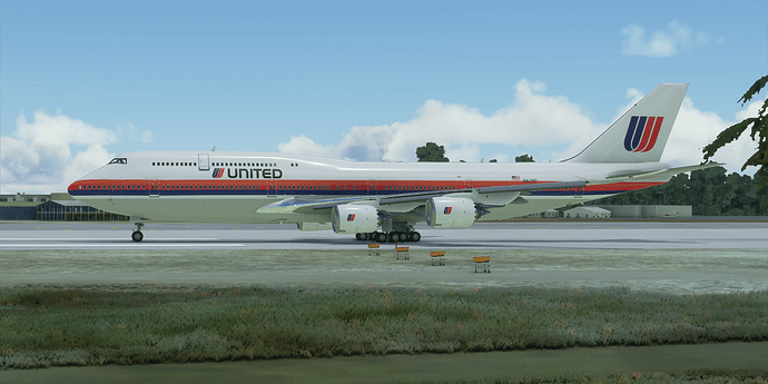 UAL747Painted