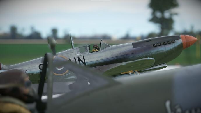 Spitfire in Calais