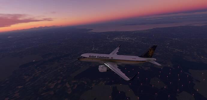 BC over Glasgow