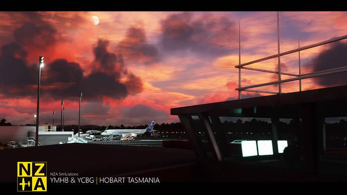 NZA Simulations - YMHB & YCBG - 2021 New Year