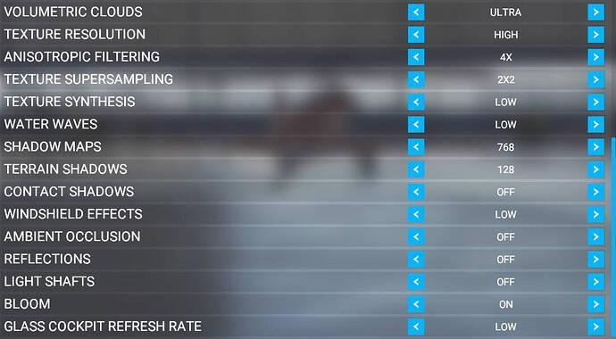 VR settings 2