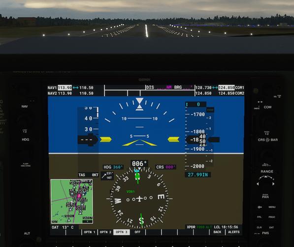 ESSA #3 in cockpit - ground