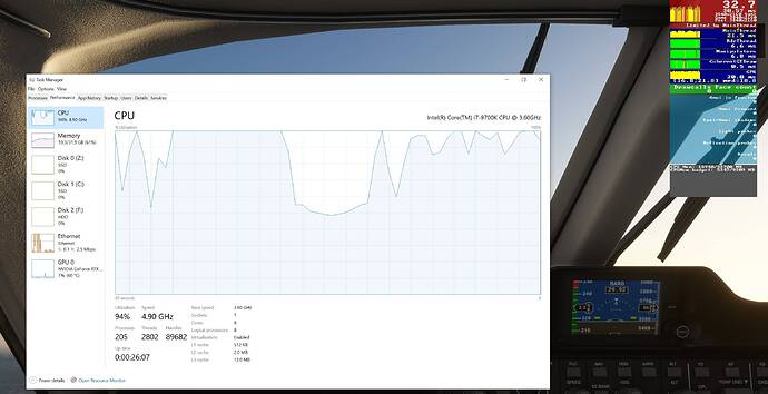FS2020 High CPU Usage