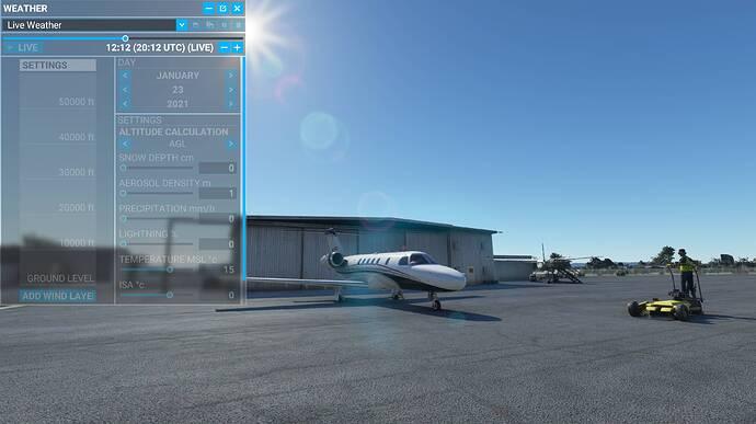 2021-01-23 12_12_55-Microsoft Flight Simulator - 1.12.13.0