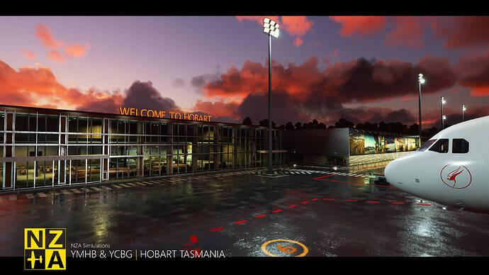 NZA Simulations - YMHB & YCBG - Terminal Gate 6