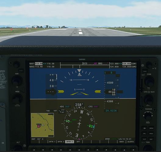 KLWT #3 in cockpit - ground