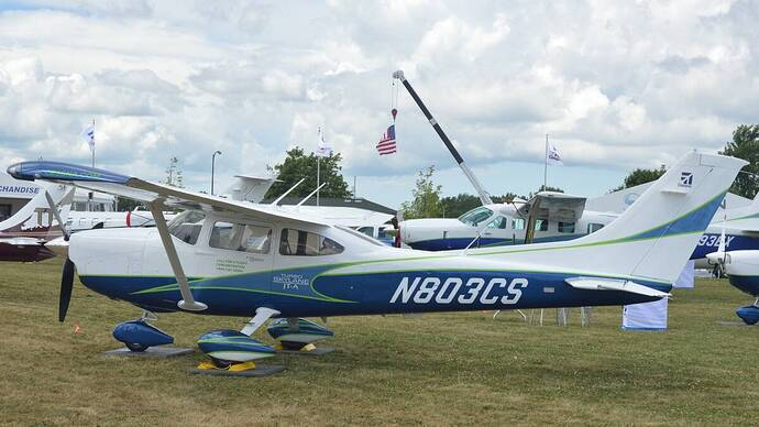 Cessna J182T Turbo Skylane JT-A N803CS