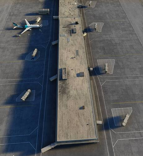 Broken Jetways EGLL