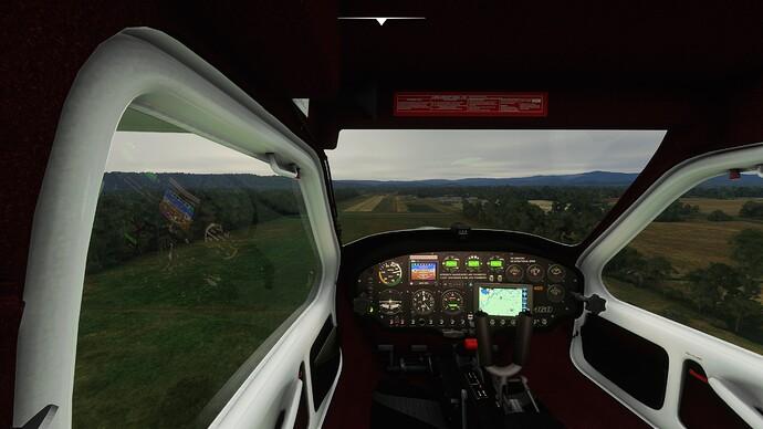 Sim landing 150ft