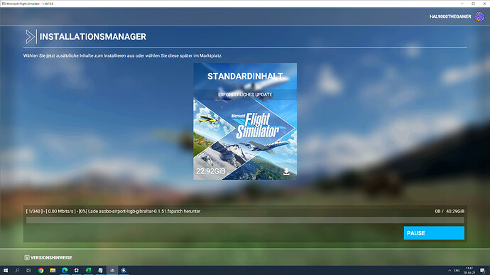 MSFS Download