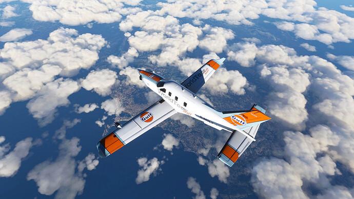 Overflying Benidorm and Alicante