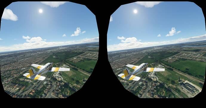 No autogen in VR