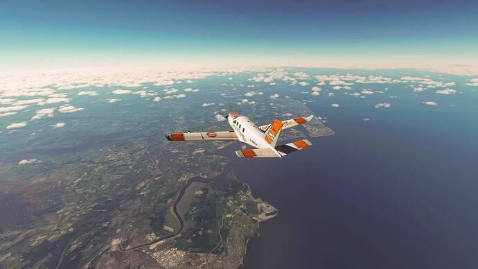 Climbing to FL310