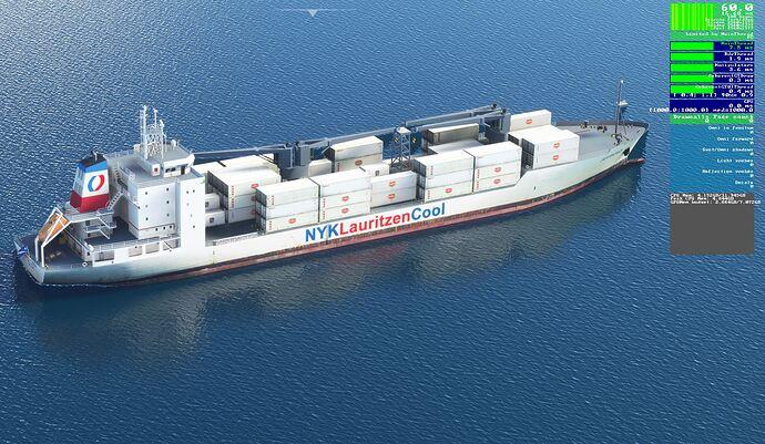 SU5 Reefer Ship