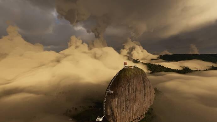 The rock of Guatape 2
