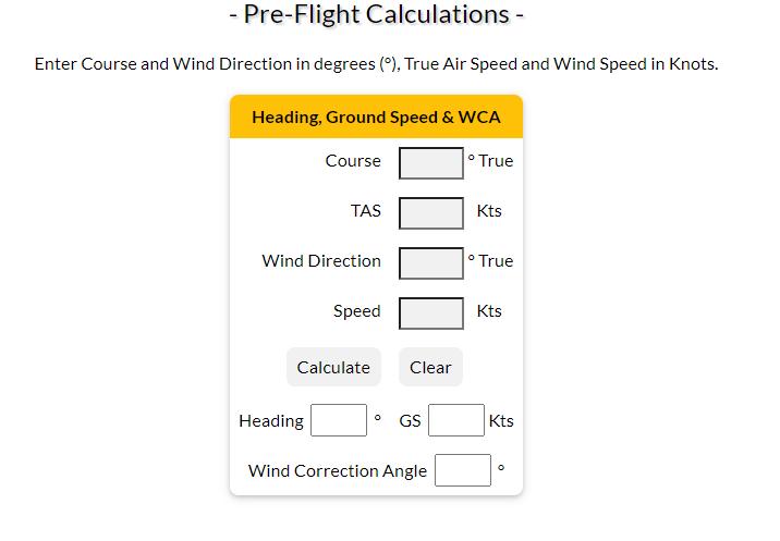WCA calculator