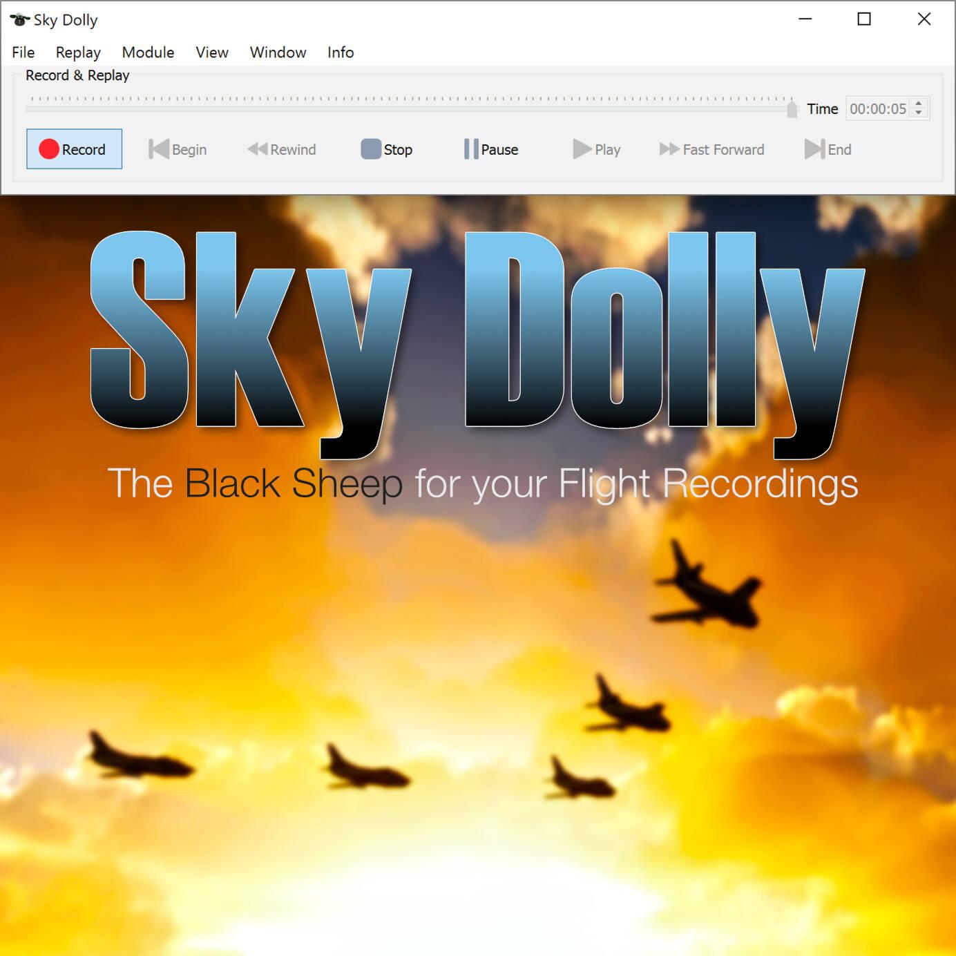 Sky Dolly 0.8.0 square